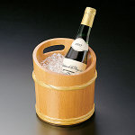 椹・竹型ワインクーラー [W12332]