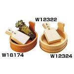 椹・小判型ミニ桶 [W12324]