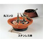串焼き丸コンロ (串14本付) [W21271]
