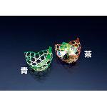 珍味篭 三つ葉 (茶) [W22501]