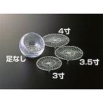 銀州 (シルバー仕上) 3.5寸 [W24443]