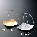 【受注生産商品】4寸シルバー銀彩皿 [W24484]
