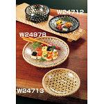 白竹・オードブル皿 (中) [W24713]