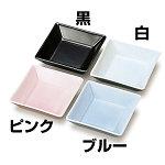 強化磁器正角皿 (A) 黒 [W26460]