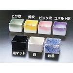 陶器・角型珍味入 コバルト吹 [W26615]