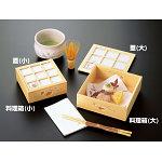 ひのき透かし料理箱 (ひょうたん) (小) [W27233]