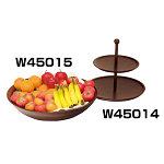 丸 二段式デザート皿 [W45014]