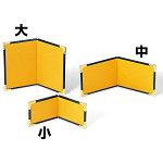 2曲ミニ金屏風 (中) [W64266]