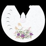 雲竜和紙花えぼし 秋草 100枚 [W64536]