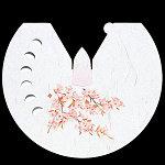 雲竜和紙花えぼし 桜 100枚 [W64573]