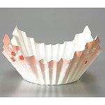 3層構造/和紙・深絞りプレス加工 紙鍋・花舞 300枚 [W69508]