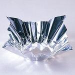 深絞りプレス加工 8号アルミ箔鍋 (シルバー) (FN24) 200枚 [W80047]